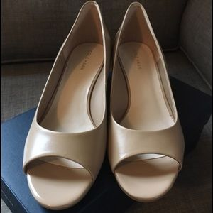 Cole Haan wedges. Worn once!